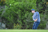 Abraham Ancer (MEX) chips on to 10 during day 2 of the Valero Texas Open, at the TPC San Antonio Oaks Course, San Antonio, Texas, USA. 4/5/2019.<br /> Picture: Golffile | Ken Murray<br /> <br /> <br /> All photo usage must carry mandatory copyright credit (&copy; Golffile | Ken Murray)