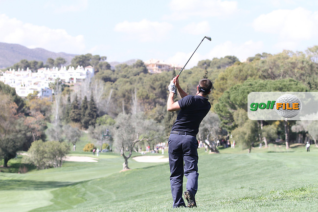 Edoardo De La Riva (ESP) on the 10th on Day 3 of the 2012 Open de Andalucia Costa del Sol at Aloha Golf Club, Marbella, Spain...(Photo Jenny Matthews/www.golffile.ie)