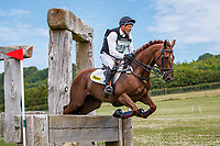 AUS-Bill Levett rides Loxleys Last Stand during the Cross Country for the Open Novice Section D. Final-7th. 2019 GBR-Barbury Castle International Horse Trial. Wiltshire, Great Britain. Friday 5 July. Copyright Photo: Libby Law Photography