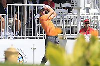 Ross Fisher (ENG) tees off the 1st tee during Saturday's Round 3 of the WGC Bridgestone Invitational 2017 held at Firestone Country Club, Akron, USA. 5th August 2017.<br /> Picture: Eoin Clarke | Golffile<br /> <br /> <br /> All photos usage must carry mandatory copyright credit (&copy; Golffile | Eoin Clarke)