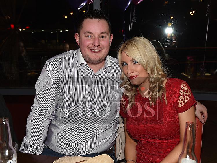 Tara McKernon celebrating her 30th birthday with boyfriend Stephen Durnin in Brú. Photo:Colin Bell/pressphotos.ie