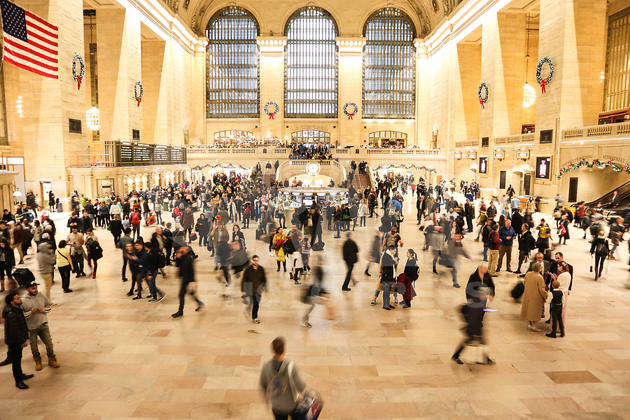 NOVA YORK, EUA, 21.12.2018 - TURISMO-EUA - Vista da Grand Central na ilha de Manhattan na cidade de Nova York nos Estados Unidos nesta sexta-feira, 21. (Foto: William Volcov/Brazil Photo Press)
