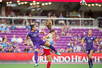 Orlando, FL - Saturday August 05, 2017: Ali Krieger during a regular season National Women's Soccer League (NWSL) match between the Orlando Pride and the Chicago Red Stars at Orlando City Stadium.