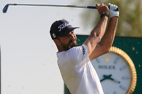 Francesco Laporta (ITA) on the 8th tee during the 1st round of  the Saudi International powered by Softbank Investment Advisers, Royal Greens G&CC, King Abdullah Economic City,  Saudi Arabia. 30/01/2020<br /> Picture: Golffile | Fran Caffrey<br /> <br /> <br /> All photo usage must carry mandatory copyright credit (© Golffile | Fran Caffrey)