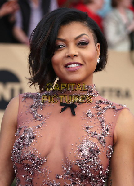 29 January 2017 - Los Angeles, California - Taraji P. Henson. 23rd Annual Screen Actors Guild Awards held at The Shrine Expo Hall. <br /> CAP/ADM/FS<br /> &copy;FS/ADM/Capital Pictures