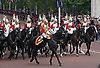 """TROOPING THE COLOUR.Soldiers of the Household Division paraded today to mark the Queen's Official Birthday on Horse Guards Parade at the ceremony known as Trooping the Colour..The Colour trooped in the presence of Her Majesty The Queen, was the new Colour of the 1st Battalion Grenadier Guards, which was presented by Her Majesty on 12th May..The parade consisited of 1400 Soldiers in the traditional uniforms of the Household Cavalry, Royal Horse Artillery, and Foot Guards, over 200 horses and about 400 musicians from ten bands & corps of drums..The Duke of Edinburgh and the Royal Colonels (Prince Charles, The Princess Royal, and The Duke of Kent) were also at the parade..Photo Credit: ©Dias/Newspix International..**ALL FEES PAYABLE TO: """"NEWSPIX INTERNATIONAL""""**..PHOTO CREDIT MANDATORY!!: NEWSPIX INTERNATIONAL..IMMEDIATE CONFIRMATION OF USAGE REQUIRED:.Newspix International, 31 Chinnery Hill, Bishop's Stortford, ENGLAND CM23 3PS.Tel:+441279 324672  ; Fax: +441279656877.Mobile:  0777568 1153.e-mail: info@newspixinternational.co.uk"""