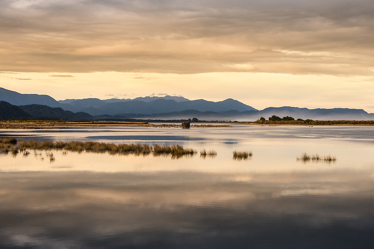 Karamea Lagoon, West Coast, South Island, New Zealand - stock photo, canvas, fine art print