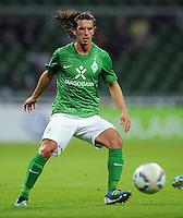 FUSSBALL   1. BUNDESLIGA   SAISON 2011/2012   TESTSPIEL SV Werder Bremen - FC Everton                 02.08.2011 Aleksandar STEVANOVIC (SV Werder Bremen) Einzelaktion am Ball