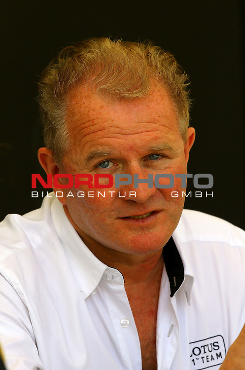 Andrew Ruhan (GB), Lotus F1 Team co-owner and co-president<br /> for the complete Middle East, Austria &amp; Germany Media usage only!<br />  Foto &copy; nph / Mathis