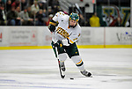 16 February 2008: University of Vermont Catamounts' defenseman Slavomir Tomko, a Senior from Zvolen, Slovakia, in action against the Merrimack College Warriors at Gutterson Fieldhouse in Burlington, Vermont. The Catamounts defeated the Warriors 2-1 for their second win of the 2-game weekend series...Mandatory Photo Credit: Ed Wolfstein Photo