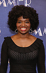 "LaChanze attends the Meet & Greet for ""Summer: The Donna Summer Musical"" on March 8, 2018 at the New 42nd Street Studios,  in New York City."