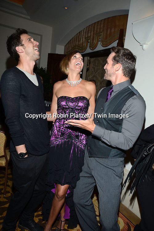 Blake Berris, Arianne Zucker and Eric Marsolf attend the Academy Of Television Arts & Science Daytime Programming  Peer Group Celebration for the 40th Annual Daytime Emmy Awards Nominees party on June 13, 2013 at the Montage Beverly Hills in Beverly Hills, California.