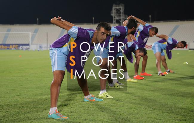 Air Force Club (IRQ) vs Al Jaish (SYR) during their AFC Cup 2016 Quarter Finals match at Saoud Bin Abdulrahman Stadium (Al Wakrah Sports Club) on 13 September 2016, in Doha, Qatar. Photo by Stringer / Lagardere Sports
