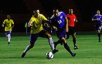 RECIFE,PE,11.11.2015 -BRASIL-ESTADOS UNIDOS- Rodrigo Ely do Brasil durante partida contra Estados Unidos em jogo amistoso de preparação para olímpiada 2016, na Ilha do Retiro, nesta quarta-feira,11. (Foto: Jean Nunes/Brazil Photo Press)