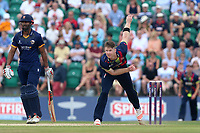 Jimmy Neesham in bowling action for Kent during Kent Spitfires vs Essex Eagles, NatWest T20 Blast Cricket at The County Ground on 9th July 2017