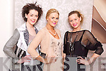 Models from Upfront Model Agency pictured at the Tralee Musical Society Fashion Fundraiser on Friday evening, from left: Grace Madden, Dawn O'Sullivan and Kinga Grunau..