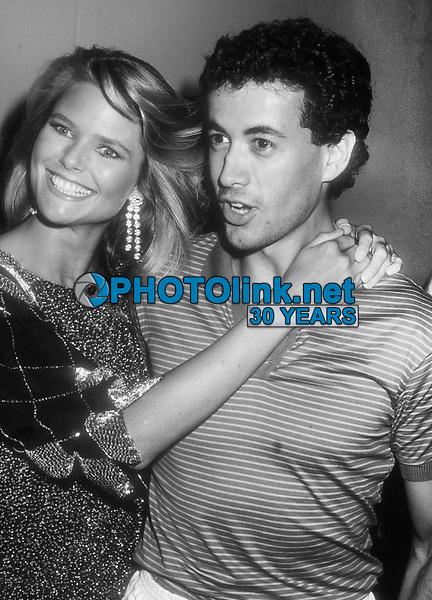 Christie Brinkley Olivier Chandon 1982<br /> Photo By John Barrett/PHOTOlink