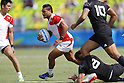 Lomano Lava Lemeki (JPN),<br /> AUGUST 9, 2016 - / Rugby Sevens : <br /> Men's Pool Round <br /> between New Zeland 12-14 Japan <br /> at Deodoro Stadium <br /> during the Rio 2016 Olympic Games in Rio de Janeiro, Brazil. <br /> (Photo by Yusuke Nakanishi/AFLO SPORT)