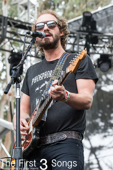Matthew Houck of Phosphorescent performs at the Outside Lands Music & Art Festival at Golden Gate Park in San Francisco, California.