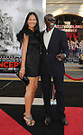 "HOLLYWOOD, CA. - July 13: Kimora Lee Simmons and Djimon Hounsou  arrive to the ""Inception"" Los Angeles Premiere at Grauman's Chinese Theatre on July 13, 2010 in Hollywood, California."