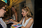 """One Life To Live Kerry Butler signs for fans as she stars in the musical """"Catch Me If You Can"""" on June 12, 2011 at the Neil Simon Theatre, New York City, New York. (Photo by Sue Coflin/Max Photos)"""