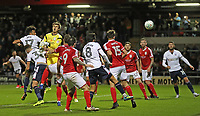 Bolton Wanderers' Derik Osede scores his sides second goal <br /> <br /> Photographer Rachel Holborn/CameraSport<br /> <br /> The Carabao Cup - Crewe Alexandra v Bolton Wanderers - Wednesday 9th August 2017 - Alexandra Stadium - Crewe<br />  <br /> World Copyright &copy; 2017 CameraSport. All rights reserved. 43 Linden Ave. Countesthorpe. Leicester. England. LE8 5PG - Tel: +44 (0) 116 277 4147 - admin@camerasport.com - www.camerasport.com
