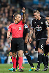 Referee Santiago Jaime Latre in action during the La Liga match between Real Madrid and RC Deportivo La Coruna at the Santiago Bernabeu Stadium on 10 December 2016 in Madrid, Spain. Photo by Diego Gonzalez Souto / Power Sport Images