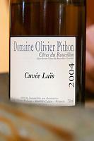 Domaine Olivier Pithon cotes du Roussillon Cuvee Lais