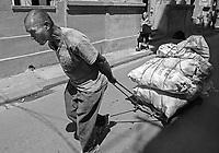 Delivering rice in La Habana Vieja