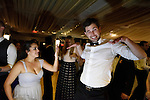 Alana, John, and Winston's fabulous, fun, sophisticated wedding  Abigail Kirsch at Tappan Hill.<br />