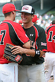 August 17 2008:  Jacob Marisnick (32) of the Baseball Factory team during the 2008 Under Armour All-American Game at Wrigley Field in Chicago, Illinois.  (Copyright Mike Janes Photography)