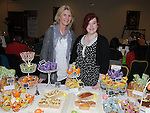 Lorraine and Sammy Rose Derwin pictured at the the craft fair in the Boyne Valley hotel. Photo: Colin Bell/pressphotos.ie
