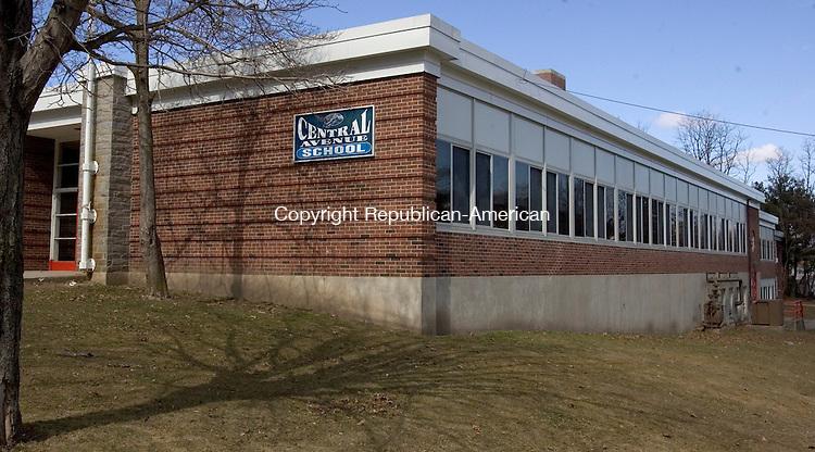 NAUGATUCK, CT. 10 March 2012-031012SV06-Central Avenue School in Naugatuck Saturday. School board members will propose closing Central Avenue School. .Steven Valenti Republican-American