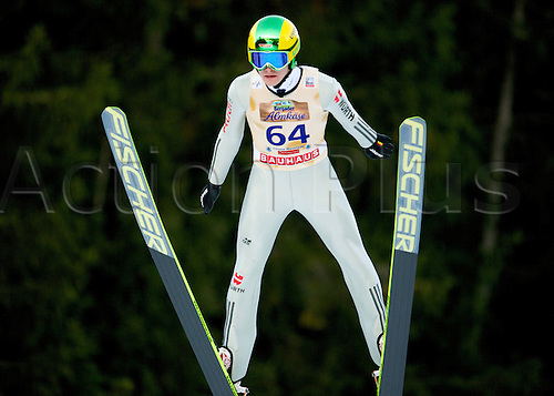13.12.2013 Titisee-Neustadt Germany. Mens World Cup Ski-Jumping Training and Qualification. KRAUS Marinus (GER)