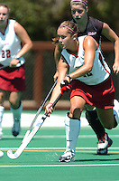 26 August 2006: Stanford Cardinal Bailey Richardson during Stanford's 2-1 win against Massachusetts Amherst at the Varsity Field Hockey Turf in Stanford, CA.