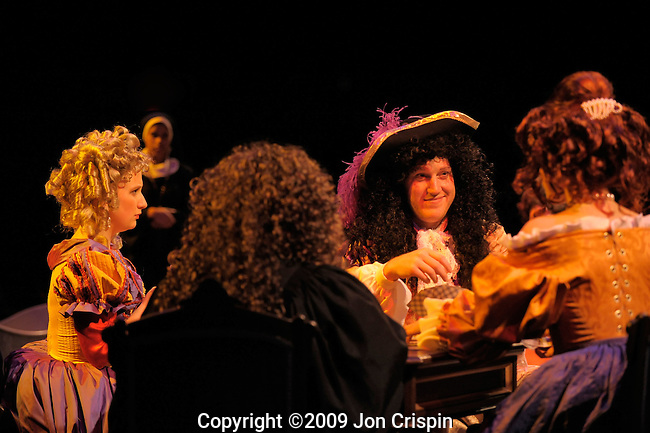 "Smith College production of ""Las Meninas""..© 2009 JON CRISPIN .Please Credit   Jon Crispin.Jon Crispin   PO Box 958   Amherst, MA 01004.413 256 6453.ALL RIGHTS RESERVED."