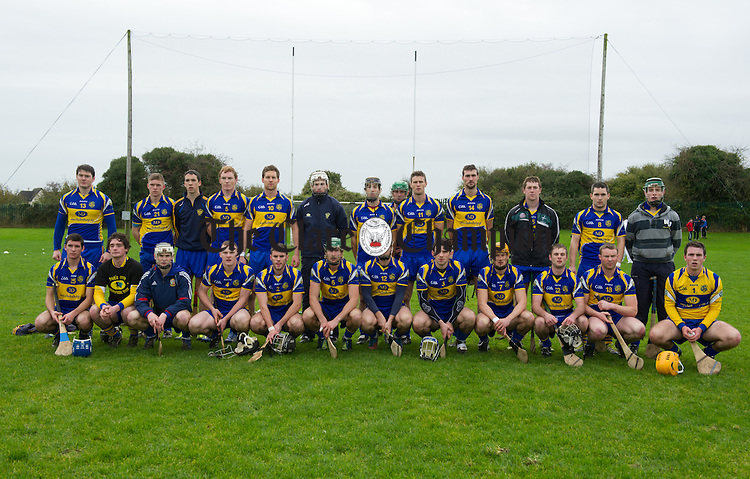 The Newmarket team which beat Ballyea during their semi-final at Clarecastle. Photograph by John Kelly.