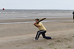 Beach Cricket at Bettystown Beach