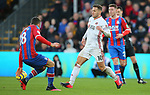 Sheffield United's Billy Sharp and Crystal Palace's James McArthur during the Premier League match at Selhurst Park, London. Picture date: 1st February 2020. Picture credit should read: Paul Terry/Sportimage