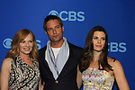 """Marg Helgenberger - Josh Holloway - Meghan Ory in """"Intelligence"""" at the CBS Upfront on May 15, 2013 at Lincoln Center, New York City, New York. (Photo by Sue Coflin/Max Photos)"""