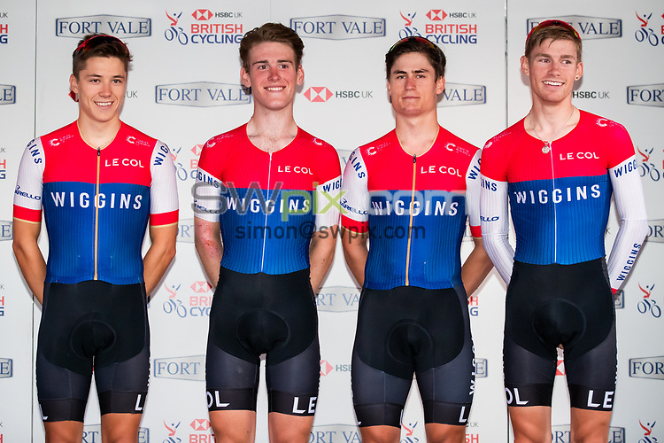 Picture by Alex Whitehead/SWpix.com - 25/07/2018 - British Cycling - HSBC UK National Circuit Series - Colne Grand Prix - Colne, Lancashire, England - Team Wiggins win the overall best team.
