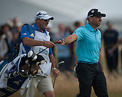 20.07.2014. Hoylake, England. The Open Golf Championship, Final Round.  Sergio GARCIA [ESP] on his way to a tied 2nd place