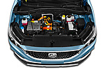 Car Stock 2020 Mg MG-ZS-EV Luxury 5 Door SUV Engine  high angle detail view
