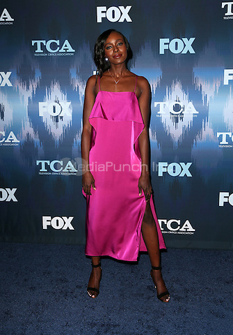 Pasadena, CA - JANUARY 11: Anna Diop, At 2017 Winter TCA Tour - FOX All-Star Party, At Langham Hotel In California on January 11, 2017. Credit: Faye Sadou/MediaPunch