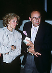 Stanley Donen and Yvette Mimieux pictured in 1982.