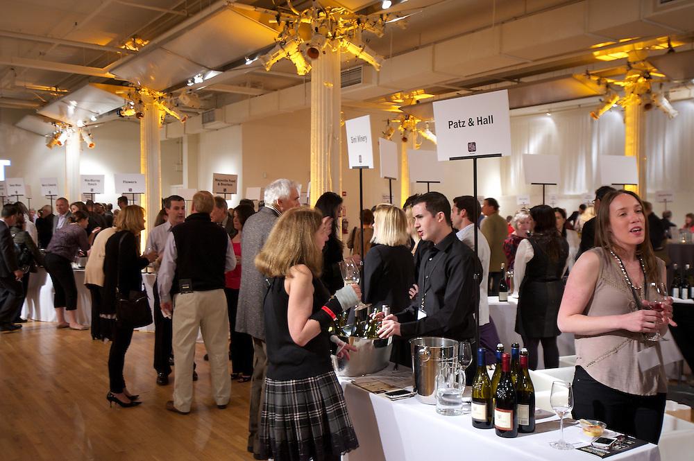 Wine tasting at Metropolitan Pavilion NYC