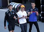 10.05.2019, Circuit de Catalunya, Barcelona, FORMULA 1 EMIRATES GRAN PREMIO DE ESPAÑA 2019<br /> , im Bild<br />George Russel (GBR#63), Rokit Williams Racing, Lando Norris (GBR#47), McLaren F1 Team, Alexander Albon (GBR#23), Red Bull Toro Rosso Honda<br /> <br /> Foto © nordphoto / Bratic