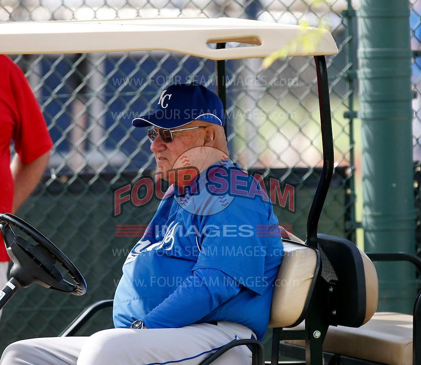 Bill Fischer  - Kansas City Royals - 2009 spring training.Photo by:  Bill Mitchell/Four Seam Images