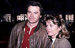 Heather Menzies-Urich and Robert Urich on February 1, 1985 in New York City.