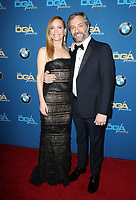 BEVERLY HILLS, CA - FEBRUARY 3: Leslie Mann and Judd Apatow at the 70th Annual Directors Guild of America Awards (DGA, DGAs), at The Beverly Hilton Hotel in Beverly Hills, California on February 3, 2018.  <br /> CAP/MPI/FS<br /> &copy;FS/Capital Pictures
